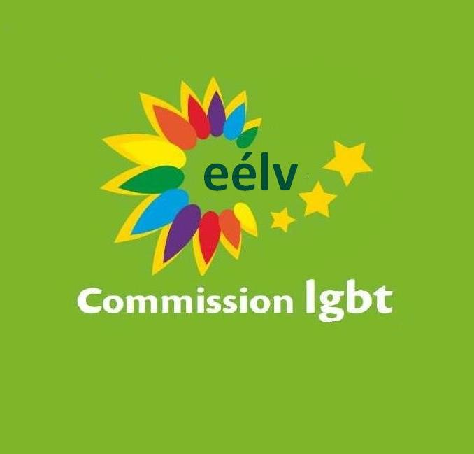 Logo EELV LGBT petit